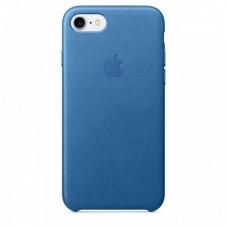 Кожаный чехол Apple для iPhone 7/8/SE 2, цвет морской
