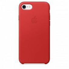 Кожаный чехол Apple для iPhone 7/8/SE 2 Red