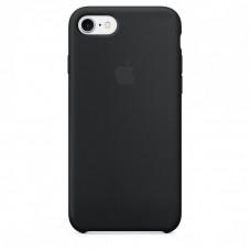 Силиконовый чехол для iPhone 7/8/SE 2, цвет черный