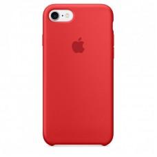 Силиконовый чехол для iPhone 7/8/SE 2 Red