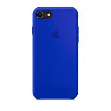 Силиконовый чехол для iPhone 7/8/SE 2, цвет индиго