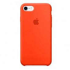 Силиконовый чехол для iPhone 7/8/SE 2, цвет оранжевый