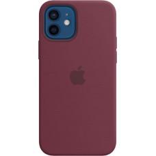 Чехол Silicone Case для iPhone 12/12 Pro, cиликон, сливовый