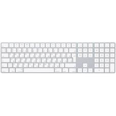 Клавиатура Apple Magic Keyboard с цифровой панелью, «серебристая»