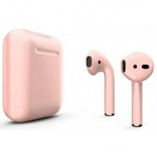 Беспроводные наушники Apple AirPods 2 розовое золото