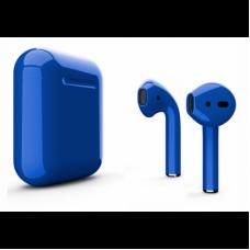 Беспроводные наушники Apple AirPods 2 синие