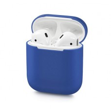 Чехол Apple AirPods (синий)