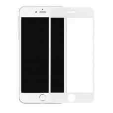Защитное 3D стекло для iPhone 7/8/SE 2 - белое