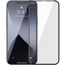 Защитное стекло Full-screen 0.23mm для iPhone 12 / iPhone 12 Pro (черный)