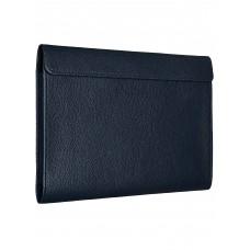"""Чехол-конверт Alexander для MacBook Pro 16"""", кожа, классика, тёмно-синий"""