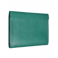 """Чехол-конверт Alexander для MacBook Pro 16"""", кожа, классика, зелёный"""