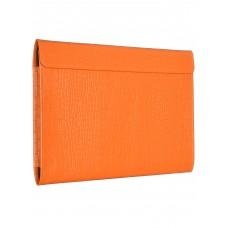 """Чехол-конверт Alexander для MacBook Pro 16"""", кожа, кроко, оранжевый"""
