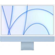 "Apple iMac 24"" MJV93 Retina 4,5K, (M1 8C CPU, 7C GPU), 8 ГБ, 256 ГБ SSD, синий"