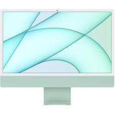 """Apple iMac 24"""" MJV83 Retina 4,5K, (M1 8C CPU, 7C GPU), 8 ГБ, 256 ГБ SSD, зелёный"""
