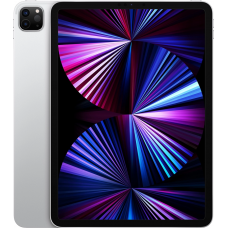 Планшет Apple iPad Pro 11 Wi-Fi + Cellular 128 ГБ 2021, серебристый