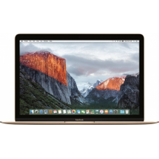 "Ноутбук Apple MacBook 12"" MRQN2RU/A, 2017 Intel M3 1,2 ГГц, 8 ГБ, 256 ГБ SSD, Intel HD 615 (золотистый)"