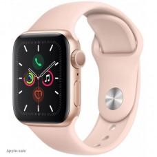 Apple Watch Series 5, 40 мм, корпус из алюминия цвета «розовое золото», спортивный браслет цвета розовое золото